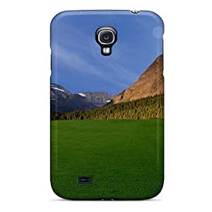 Premium Protection Beautiful Grass Field Case Cover For Galaxy S4- Retail Packaging