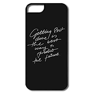 Alice7 Sayings Case For Iphone 5,Funny Iphone 5 Case