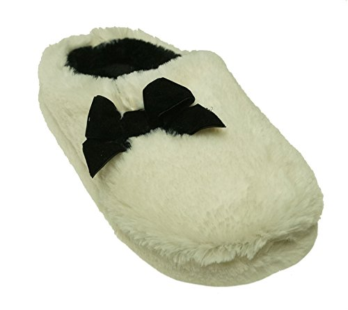 Size INC Ivory 12 Concepts International Plush Bow Clog 11 Women's Slippers 44r8w0qx