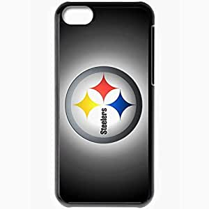 Personalized iPhone 5C Cell phone Case/Cover Skin 1143 pittsburgh steelers Black by lolosakes