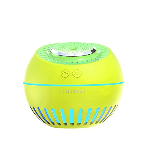 Galapara Humidifiers, Portable Mini USB Humidifier, Large Capacity Air Mist Humidifier Rechargeable Colorful Night Light Changing Household Humidifier Diffuser for Bedroom Home Office Travel