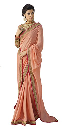 - Magneitta Womens Ethnic Wedding And Party Wear Heavy Handwork Designer Sari Heavy Work Sarees,6.30 Mtr Including 1 Meter Designer Blouse Piece,As Per the Picture