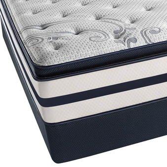 beautyrest mattress pillow top. King Simmons Beautyrest Recharge Kenosha Place II Plush Pillow Top Mattress