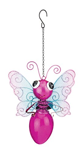 Pink Butterfly Solar Lights