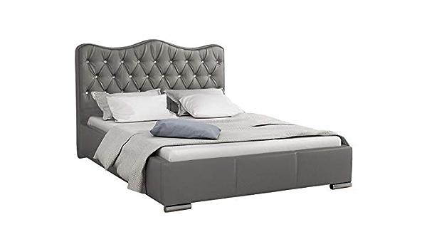 Mirjan24 Santorini - Cama tapizada con canapé y somier ...