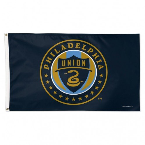 fan products of SOCCER Philadelphia Union 09681115 Deluxe Flag, 3' x 5'