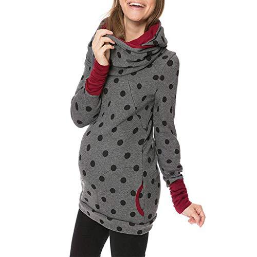 women pregnant hoodie sweatershirt maternity