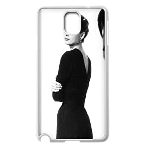 High Quality -ChenDong PHONE CASE- For Samsung Galaxy NOTE4 Case Cover -Audrey Hepburn Pattern-UNIQUE-DESIGH 10
