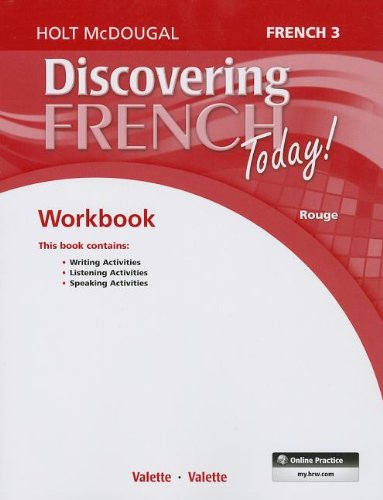 Discovering French Today: Student Edition Workbook Level 3 (French Edition) ()
