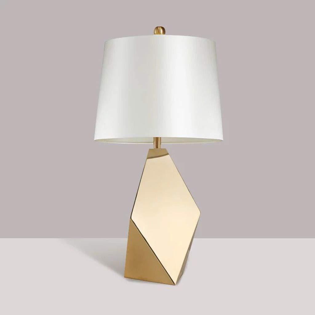 幾何学的モデリングテーブルランプ家の寝室のベッドサイドランプのテーブルランプ33 * 56 cm QYSZYG   B07SJWV2H9