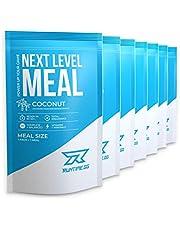 Mahlzeitenersatz Shake von Runtime zum abnehmen | Protein-Shake mit Vitaminen, Mineralstoffen und Ballaststoffen | Mit wertvollen BCAAs (Aminosäuren) und Kollagen Hydrolysat | Next Level Meal 7x150g