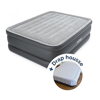 Pack Colchón hinchable Intex Essential Rest Bed Fiber-Tech ...