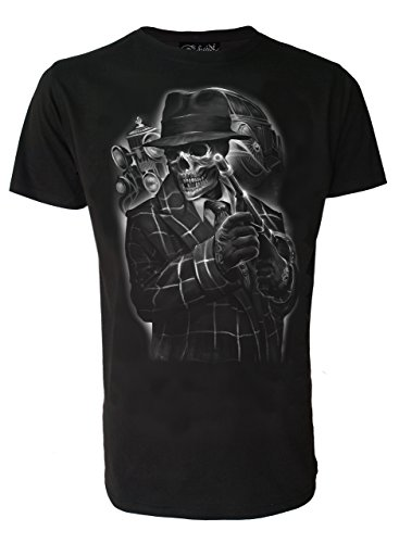GANGSTER - für Männer T-Shirt - schwarz