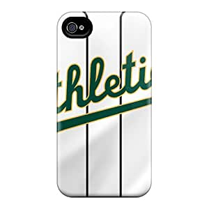 JoanneOickle Iphone 6 Shock Absorbent Hard Cell-phone Case Custom Stylish Oakland Athletics Pictures [xAb20004CRbF]