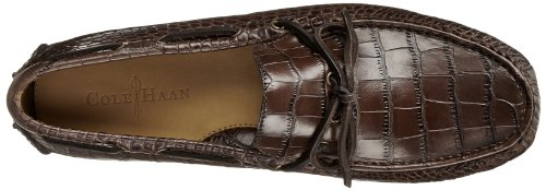 Cole Haan Men's Grant Canoe Camp Slip-On Loafer Chestnut Croco pay with visa for sale with paypal sale online shopping online free shipping zlYt9FUnBM