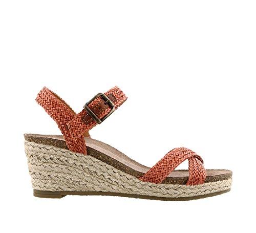 Taos Footwear Burnt Women's Jute Hey orange Sandal ggdrHqw