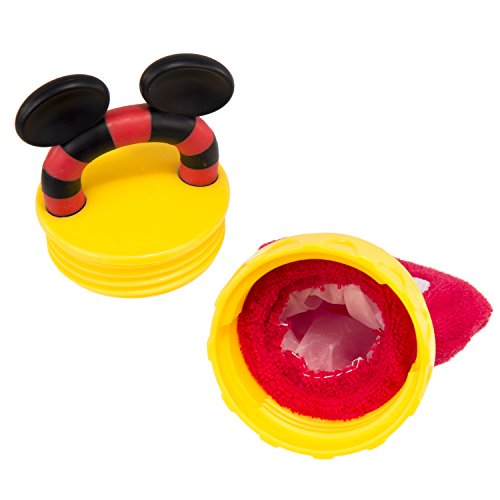 Disney Mickey Mouse Terry Teether with Handle, Red by Disney (Image #1)