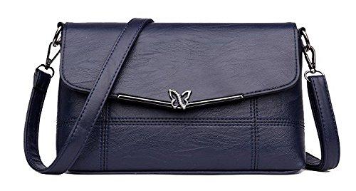 CCAFBO181591 Fête Sacs bandoulière à Orné d'embrayage Achats VogueZone009 Bleu Femme à Sacs main Bleu H5qxPvw