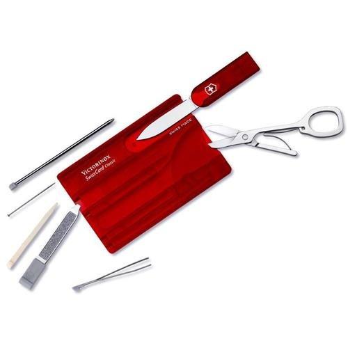 Swiss Army 57927 Knife Swisscard Ruby