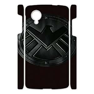 Agents of S.H.I.E.L.D HILDA8016191 3D Art Print Design Phone Back Case Customized Hard Shell Protection Google Nexus 5