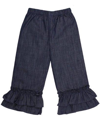 Ruffle Flare Jeans - 7
