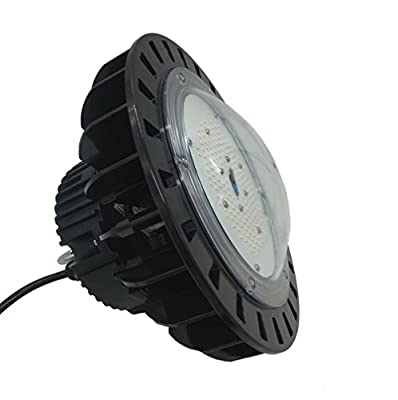 Anjeet 200W LED High Bay Light Warehouse Garage Shop Lighting Fixture UFO Ceiling Lamp