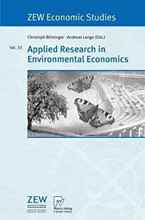 research papers on environmental economics