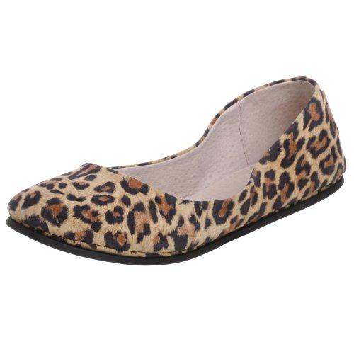 French Sole FS/NY Women's Sloop Ballet Flat - Leopard - 7...