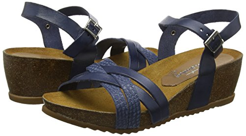 Strap blu Mustang 801 blau Ankle Donna 2866 Sandalo Donna Ankle 8 xFza0Xwzq   d7153d