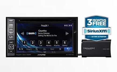 Alpine INE-W960HDMI Audio/Video/Nav System with Sirius XM SXV300 - Din Car Audio Double Alpine Gps