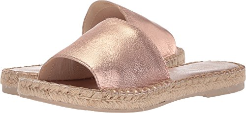 Dolce Vita Women's Bobbi Slide Sandal, Rose Gold Leather, 7.5 M US - Dolce Vita Womens Rose