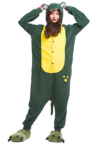 Adulto Unisex Pijama Animal Cocodrilo Kigurumi Verde Cosplay fUPwZPnaq
