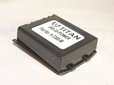 Titan®200-00233 Replacement Barcode Scanner Battery-18 Month Warranty