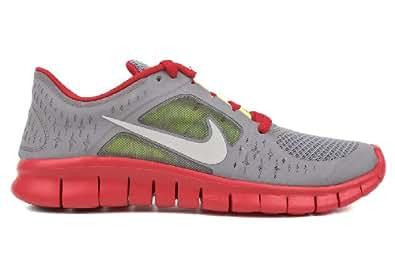 Nike Free Run 3 (GS) Big Kids Running Shoes 512165-003 Dark Grey 6.5 M US
