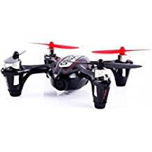 Hubsan X4 H107C RC Quadcopter Aerial Device (30W Pixels, Black+Red)
