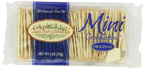 (La Panzanella Original Mini Croccantini, 6-Ounce Packages (Pack of 6))