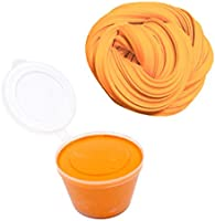 Lovelysunshiny Alivio del estrés Fluffy Floam Slime Craft Mud Toy No Borax Cotton Slime Clay