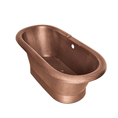 copper freestanding bathtubs - 1
