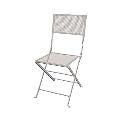 mesh folding patio chairs. amazoncom courtyard creations fls white mesh folding steel bistro chair by inch patio chairs lawn u garden with d
