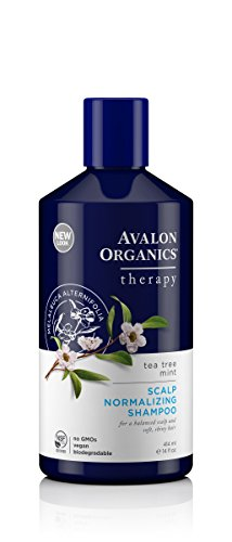 Avalon Organics Shampoo (Avalon Organics Tea Tree Mint Scalp Normalizing Shampoo, 14 Fluid Ounce)