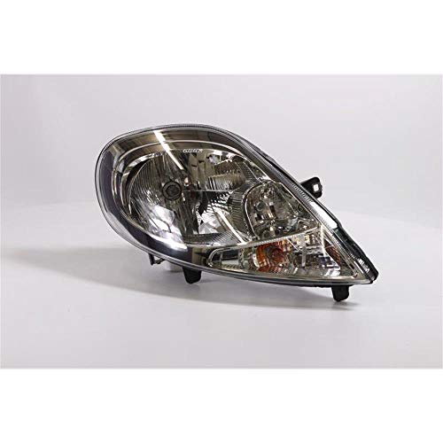 Right Driver Side Headlamp Front Head Light Head Lamp (With Clear Indicator):