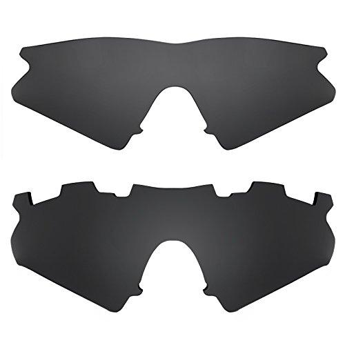 7a820bd7ad Chic Revant Combo de 2 pares de lentes polarizados, de reemplazo, para  Oakley M