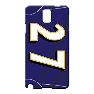 samsung note 3 Strong Protect Plastic Pretty phone Cases Covers phone carrying cases baltimore ravens nfl football