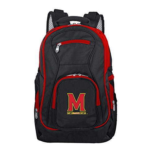 NCAA Maryland Terrapins Colored Trim Premium Laptop Backpack