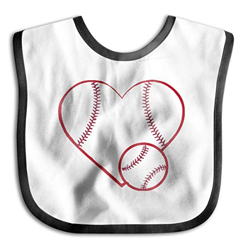 Baseball Softball Lace Junior Bib Waterproof Bib For Babies