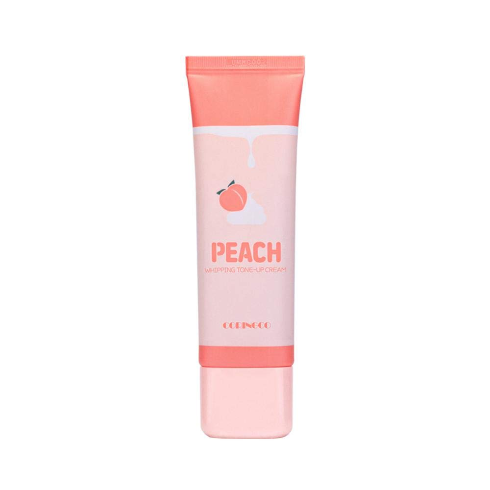 Coringco Peach Whipping Tone Up Cream Primer Foundation Brightening Wrinkle Care