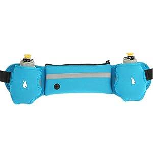 Unisex Sport Fitness Water Bottle Waist Belt Bag Running Jogging Marathon Gym Waist Accessories