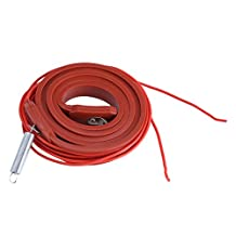 Heating Belts Air-conditioning Compressor Heating Belt Silicone Rubber Heater Strip Cold Storage Electric Heating Belt, 80W 220V