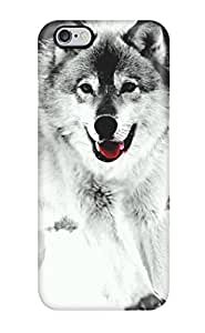 Durable Wolf Back Case/cover For Iphone 6 Plus