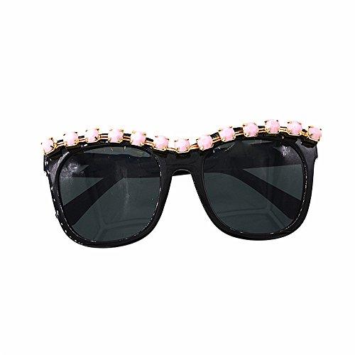 légères soleil plage lunettes de Rétro Style femmes Show de Baroque Crystal soleil de de surdimensionné lunettes ultra Cat femmes lunettes yeux Fashion Les soleil les pour personnalité lunettes soleil 4EqX00